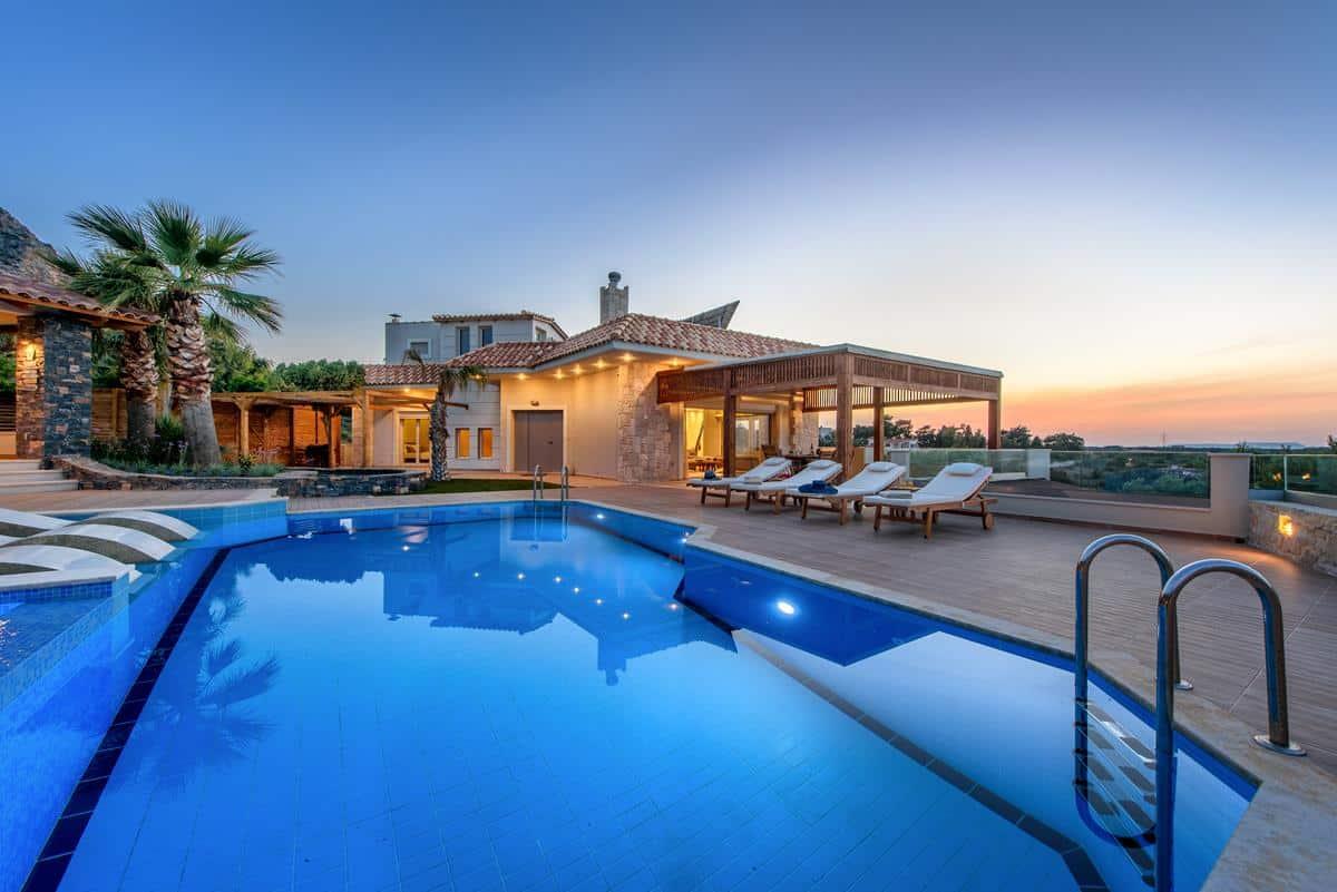 Luxury villa in greece belle helene 29 welcome greece for Villas 2018