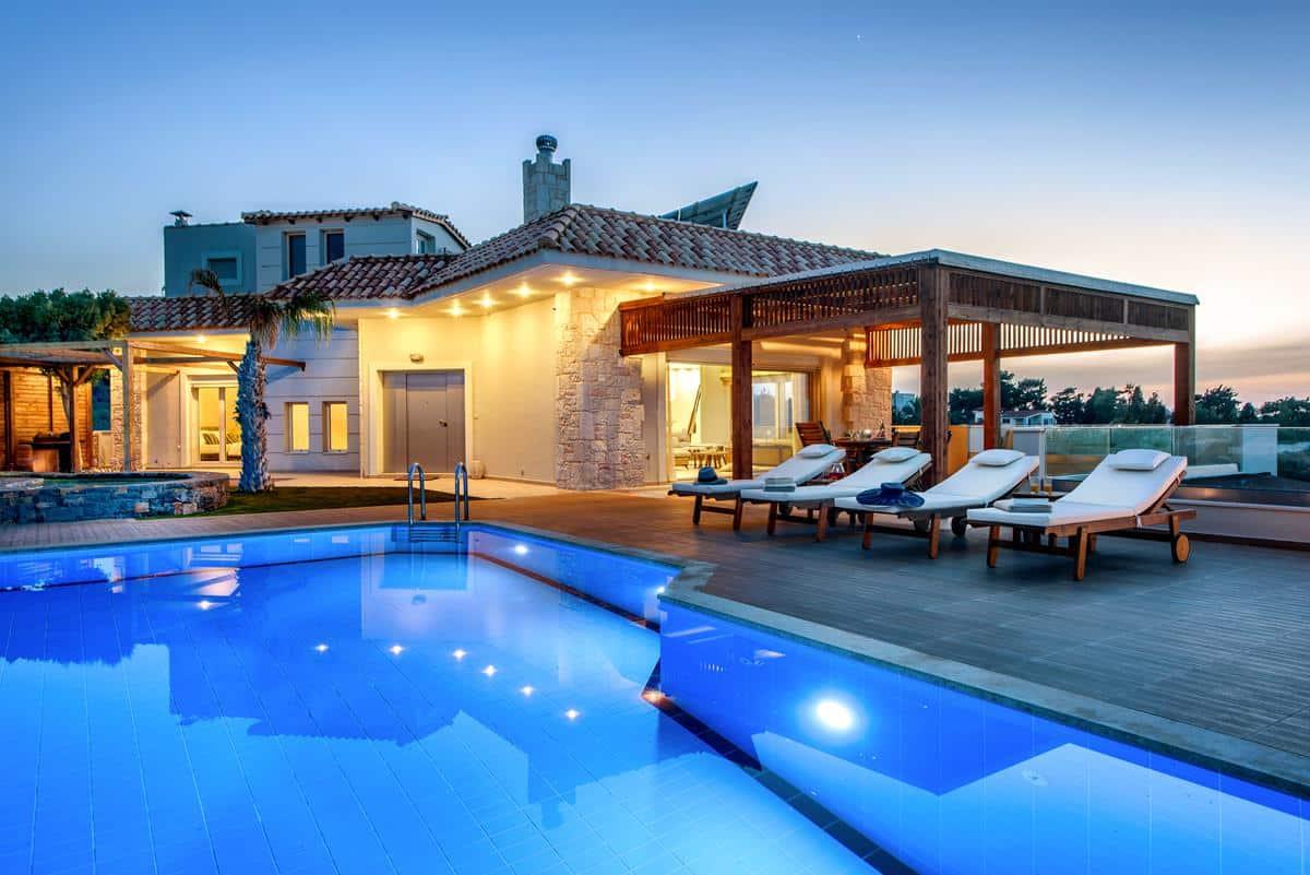 Luxury villa in greece belle helene 30 welcome greece for Villas 2018